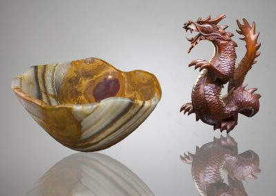 Bowl Dragon