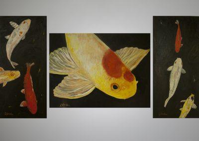 Fish Triptych